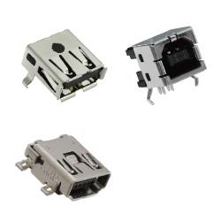 【タイコエレクトロニクス(TE)】  基板用USB/DVI/HDMIコネクタ