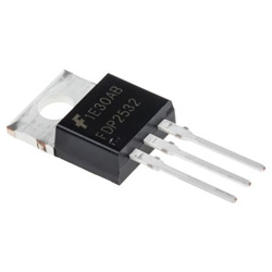 ON Semiconductor Nチャンネル パワーMOSFET, 150 V, 8 A, 3 ピン パッケージTO-220AB