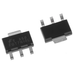 ON Semiconductor Nチャンネル パワーMOSFET, 100 V, 1.7 A, 3+Tab ピン パッケージSOT-223