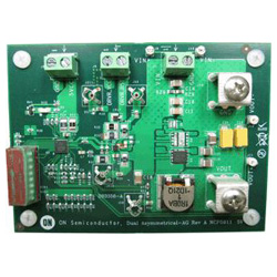 評価ボード ON Semiconductor DUALASYMB12VGEVB Single Phase Buck Converter Dual Asymmetrical BG Evaluation Board