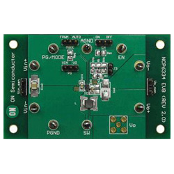 評価ボード ON Semiconductor NCP6334GEVB Synchronous Buck Converter Evaluation Board