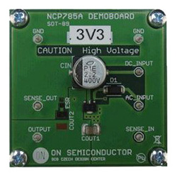 評価ボード ON Semiconductor NCP785AH33GEVB Ultra High Voltage Regulator Evaluation Board for NCP785AH33T1G