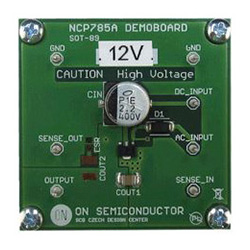 評価ボード ON Semiconductor NCP785AH120GEVB Ultra High Voltage Regulator Evaluation Board for NCP785AH120T1G