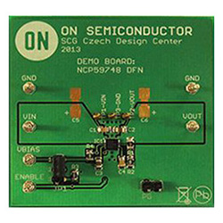 評価ボード ON Semiconductor NCP59748MN1ADJTBGEVB