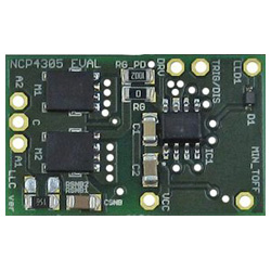 評価ボード ON Semiconductor NCP4305LLCGEVB A High Efficiency Synchronous Rectification Evaluation Board