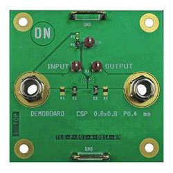 評価ボード ON Semiconductor NCP333FCT2GEVB Load Switch with Discharge Path for NCP333FCT2G