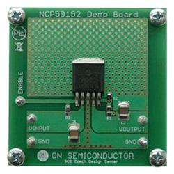 評価ボード ON Semiconductor NCP59152DSADGEVB Adjustable VLDO Regulator Evaluation Board for NCP59152DSADJR4G