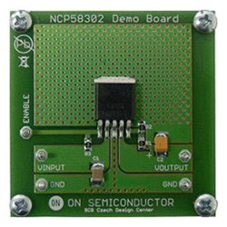 評価ボード ON Semiconductor NCP58302DSADGEVB Adjustable VLDO Regulator Evaluation Board for NCP58302DSADJR4G