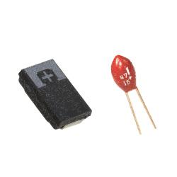 20% AVX CAP 2824 F720J108MMC 6.3V 1000µF
