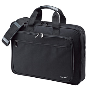 PCキャリングバッグ(15.6インチワイド・シングル・ブラック) BAG-U52BK2