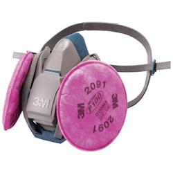 取替式防じんマスク 6500QL/2091-RL3