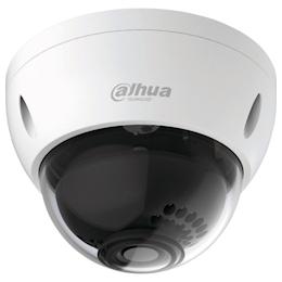 Dahua 2.4M IR防水ドーム型カメラ φ122×89 ホワイト