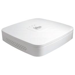 Dahua 4CH 4PoE給電NVR 205×205×45 ホワイト