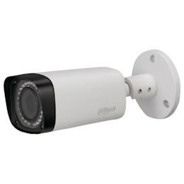 Dahua 2M IR防水バレット型カメラ 72×80×212.8 ホワイト