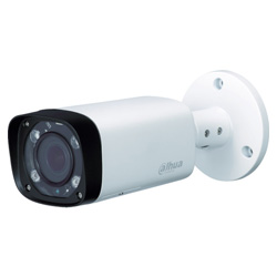 Dahua 2M IR防水バレット型カメラ φ90.4×213 ホワイト
