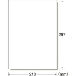 屋外用サインラベル(レーザープリンタ用)・サインラベル