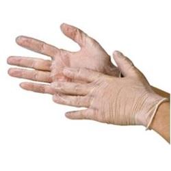 使い捨て塩化ビニール手袋 パウダーフリー