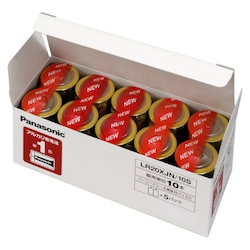 アルカリ乾電池 単1 10本入