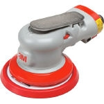 Clean sanding double action sander - non-dust collector type