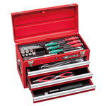 Tool set for maintenance chest type TSS452
