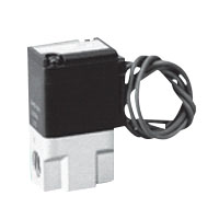 圧縮空気用直動式2ポート電磁弁単体 ジャスフィットバルブ FABシリーズ