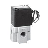 圧縮空気用直動式3ポート電磁弁単体(ジャスフィットバルブ) FAGシリーズ
