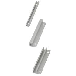 スイッチ・センサ用レール アルミタイプ L寸指定 穴位置固定タイプ