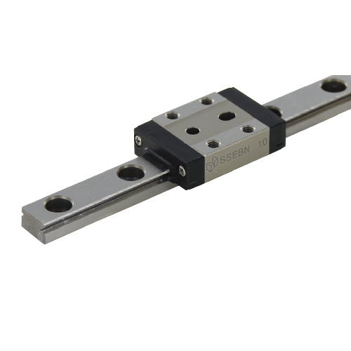 Standard Block Miniature Linear Guide with Dowel Holes - Accuracy, Preload and Lubrication Type Selectable, SSEBN Series (MISUMI)