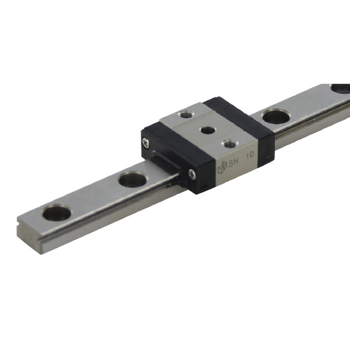 Miniature Linear Guide - Short Block with Dowel Holes