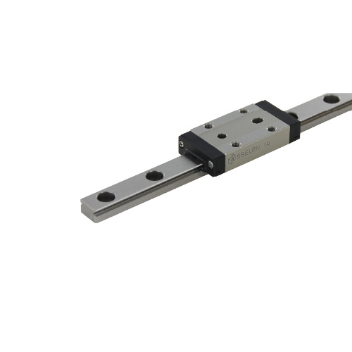 Long Block Miniature Linear Guide with Dowel Holes - High Grade, Light Preload, SSELBN Series (MISUMI)