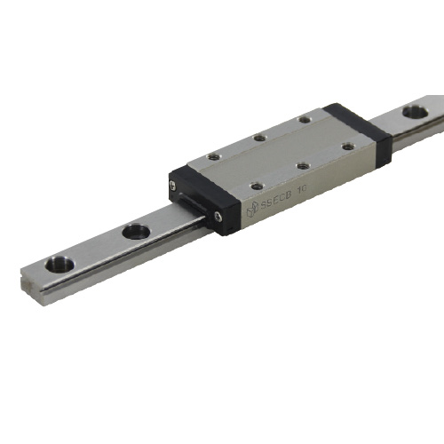 Extra Long Block Miniature Linear Guide - Accuracy, Preload and Lubrication Type Selectable, SSECB Series (MISUMI)