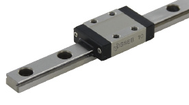 Standard Block Miniature Linear Guide - Accuracy, Preload and Lubrication Type Selectable, SSEB Series (MISUMI)