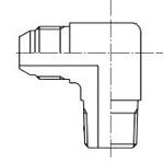 アダプタ 機器接続側管用テーパねじタイプ(30°オスシート付) 090 90°エルボ